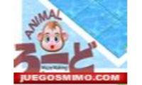 puzzle animal es un juego de ingenio y habilidad de este mono que tendra que cruzar el puente pero tendras que usar las piezas de este puzzle infantil para que cruze el mono, para niños o niñas o chicas, donde con tu mente tendras que colocar el mayor numero de piezas.