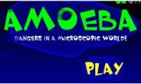 En este juego clásico de los más antiguos en el mundo de los videojuegos llamado ameba.  Tendrás que recoger las células que son de tipo glucosa para que puedas sobrevivir. Luego tendréis que tener cuidado con los virus, ya que si os toca os matara.