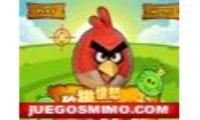 angry birds hunting juego de estrategia y ingenio, con los cerdos marcianos quieren vengarse de las terribles aves de Angry Birds, niños o niñas infantiles tendreis que apuntar con el mirador a los enemigos y tirar a estos pajaros contra los cerdos verdes