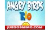 angry birds rio tira chinas en versión en flash de habilidad y estrategia para ñiños y niñas como chicas.Toma el control de una bandada de pájaros con los angry birds rio en brasil con estos pequeños animales con sus tira chinas.