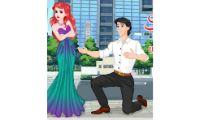 juego de ariel rompe con eric, como su nombre indica es que su amor a terminado la sirenita ariel con el principe eric en este videojuegos de chicas gratis donde terdras que recoger sus cosas para irse y terminar con su cita.
