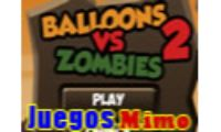 balloons vs zombies