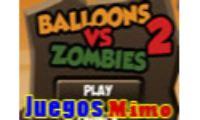 balloons vs zombies es un juego de zombies sangriento en el que tendras que Matar a todos los zombies con la ayuda de globos, cuchillos y granadas en este juego sangriento de zombies.
