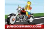 bart simpson bike fun es un juego de conducir motos de los simpson en el que bart tendra que tener una destreza con la motos en todos los circuitos que salen y no chocarse con los demas.Tu juego infantil para niños, niñas o chicas más divertido y original de los dibujos animados de la television.