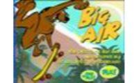 scobydoo big air es un juego de skyboard, habilidad y conduccion sobre un patinete en la playa que no parara de saltar con tu heroe de television.Este perro scoobydoo le gustara bastante este deporte.