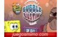 Reseña del juego de bob esponja en una nueva aventura, bubble bustin es un divertido juego de ingenio y habilidad en el que deberás reventar todas las burbujas que salen del fondo del barco lo más rápido posible con estos animales para niños, niñas e infantiles debajo del mar.