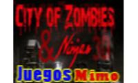 city of zombies ninjas 3d