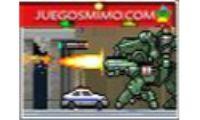 collateral damages tendras que coger a este robot y dispara a todos los coches de policia que salgan a su paso.En este juego de accion y tiros apunta bien a tus enemimos y sigue jugando gratis.