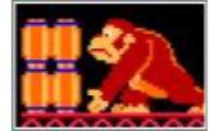 ¿Quien no ha jugado a donkey kong, este juego con aquellas maquinitas? esta versión mantiene los mismos detalles.Te tiraran barriles y tendras que esquivarlos en este clasico del animal de donkey con todos sus monos.