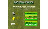 futbol football a track es un deporte donde el futbol es el protagonista donde tendras que conseguir meter el mayor numero de goles pero siempre evitando que os saquen la tarjeta amarilla.