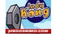 indy kong es un juego de ingenio y clasico en el que tendreis que subir lo mas arriba que podais para salvar a amiga de indy kong.Tener cuidado con las tuercas que lanza el constructor, porque tendreis que saltarlas niños, niñas o chicas en esta aventura de plataformas y saltos.