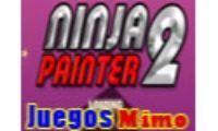 ninja painter 2 es un Juego de pintar y colorear ninjas en el qué deberas pintar al ninja Más Ágil del Mundo. Juega gratis a ninja painter 2 y colorea lo mejor que puedas.
