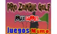 pro zombie golf es un juego de zombies sangrientos ambientado en la noche de Halloween, tendras que lanzar la calavera hasta darles a todos los zombies de cada pantalla y asi ganar puntos con pro zombie golf.
